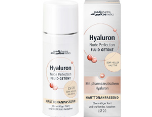 Hyaluron Nude Perfection getöntes Fluid LSF 20 sehr hell