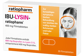 Ibu-Lysin-ratiopharm 400 mg