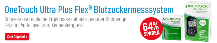 OneTouch Ultra Plus Flex Blutzuckermesssystem