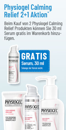 Gratis Physiogel Serum beim Kauf von 2 Physiogel Calming Relief Produkten!