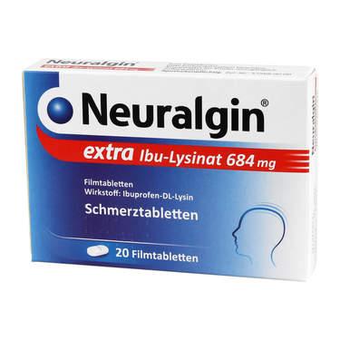 Neuralgin Extra IBU-Lysinat Filmtabletten 20 St kaufen +