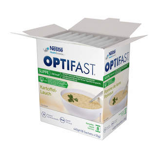 Optifast home Suppe Kartoffel-Lauch Pulver