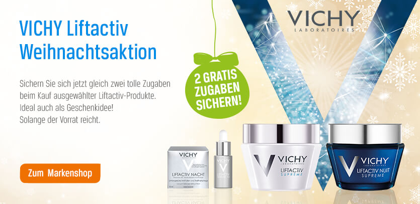 Vichy Weihnachtsaktion