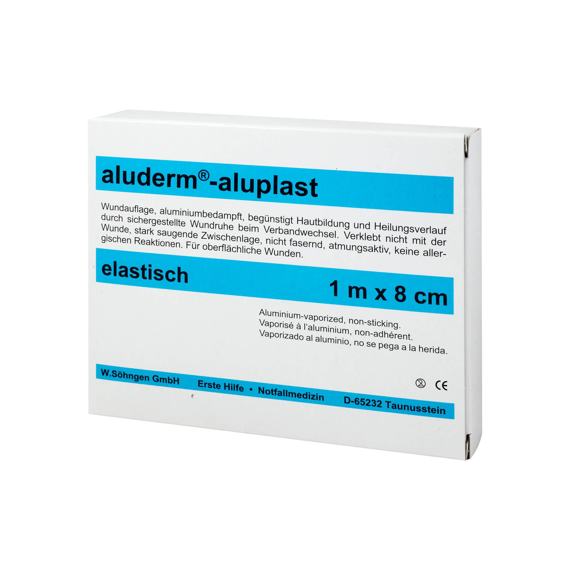 Aluderm Aluplast 1m x 8cm