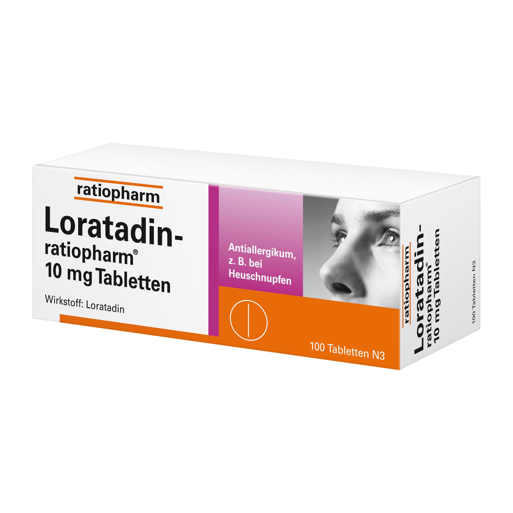 Loratadin-ratiopharm 10 mg