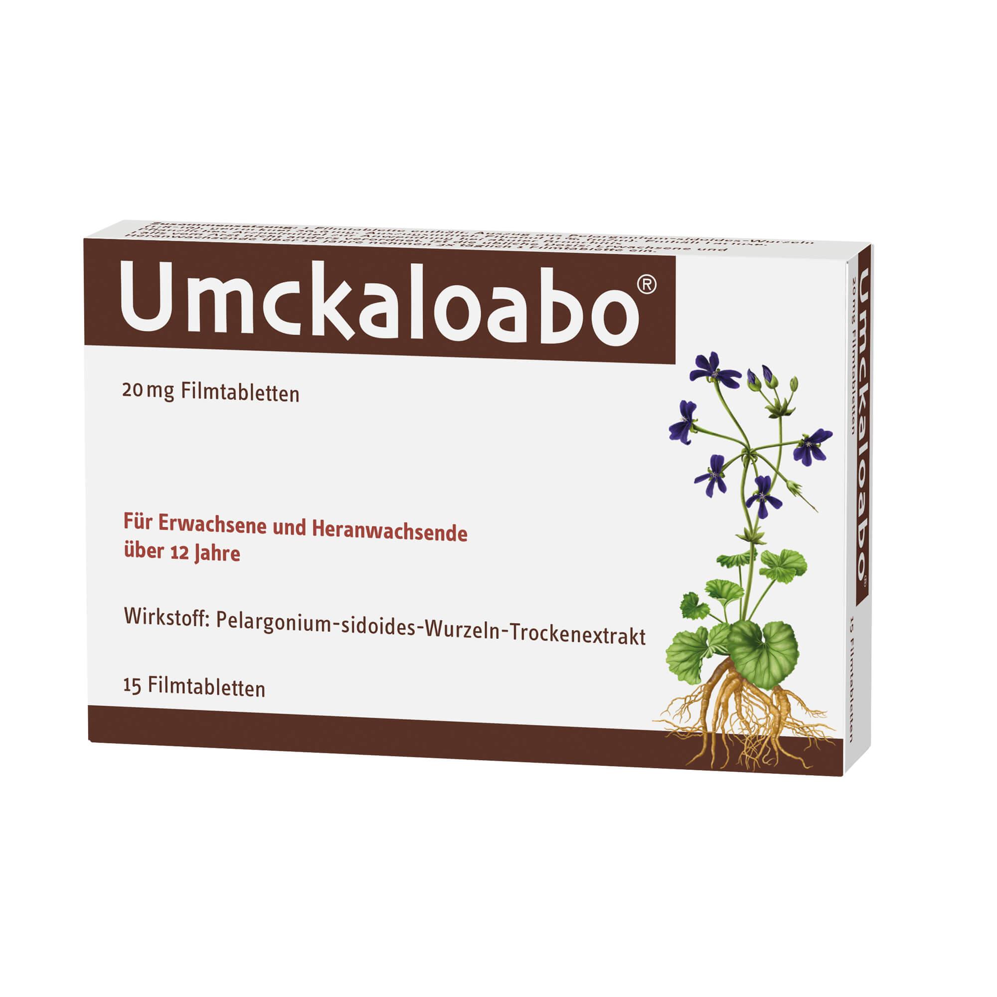 Umckaloabo 20 mg