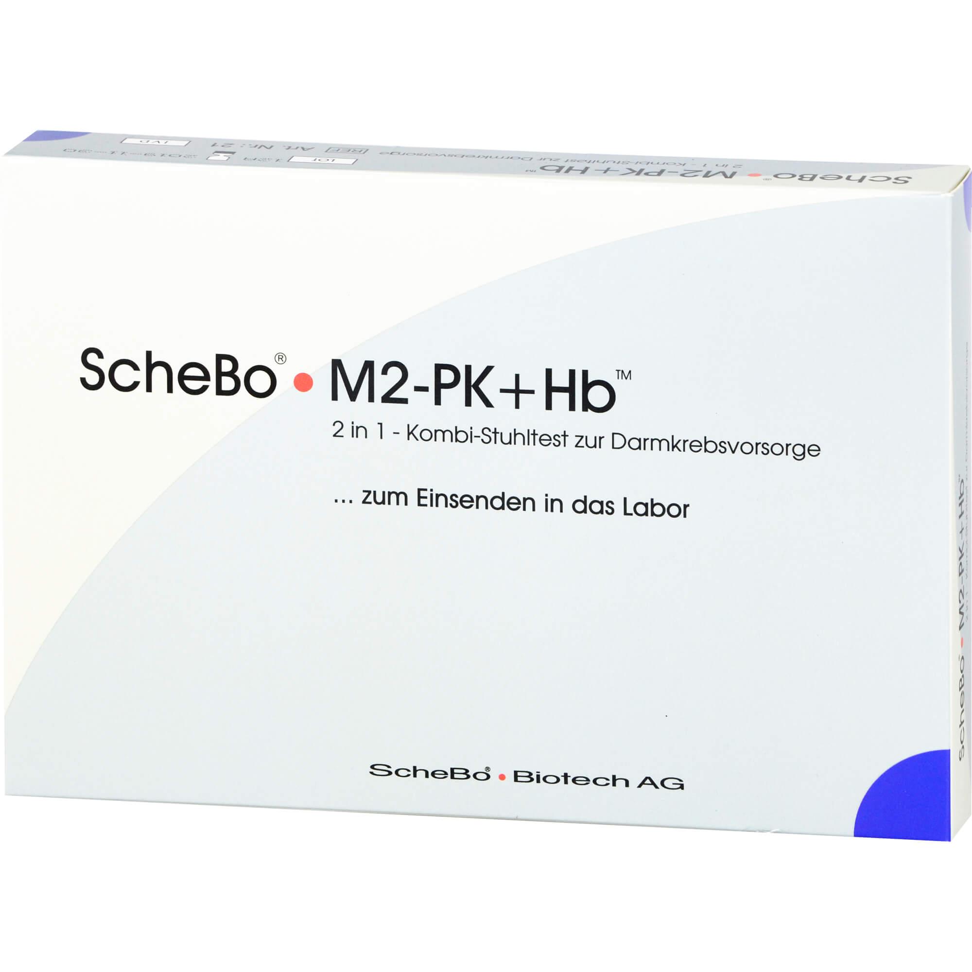 SCHEBO M2-PK+Hb 2 in1 Kombi-Darmkrebsvorsorge Test