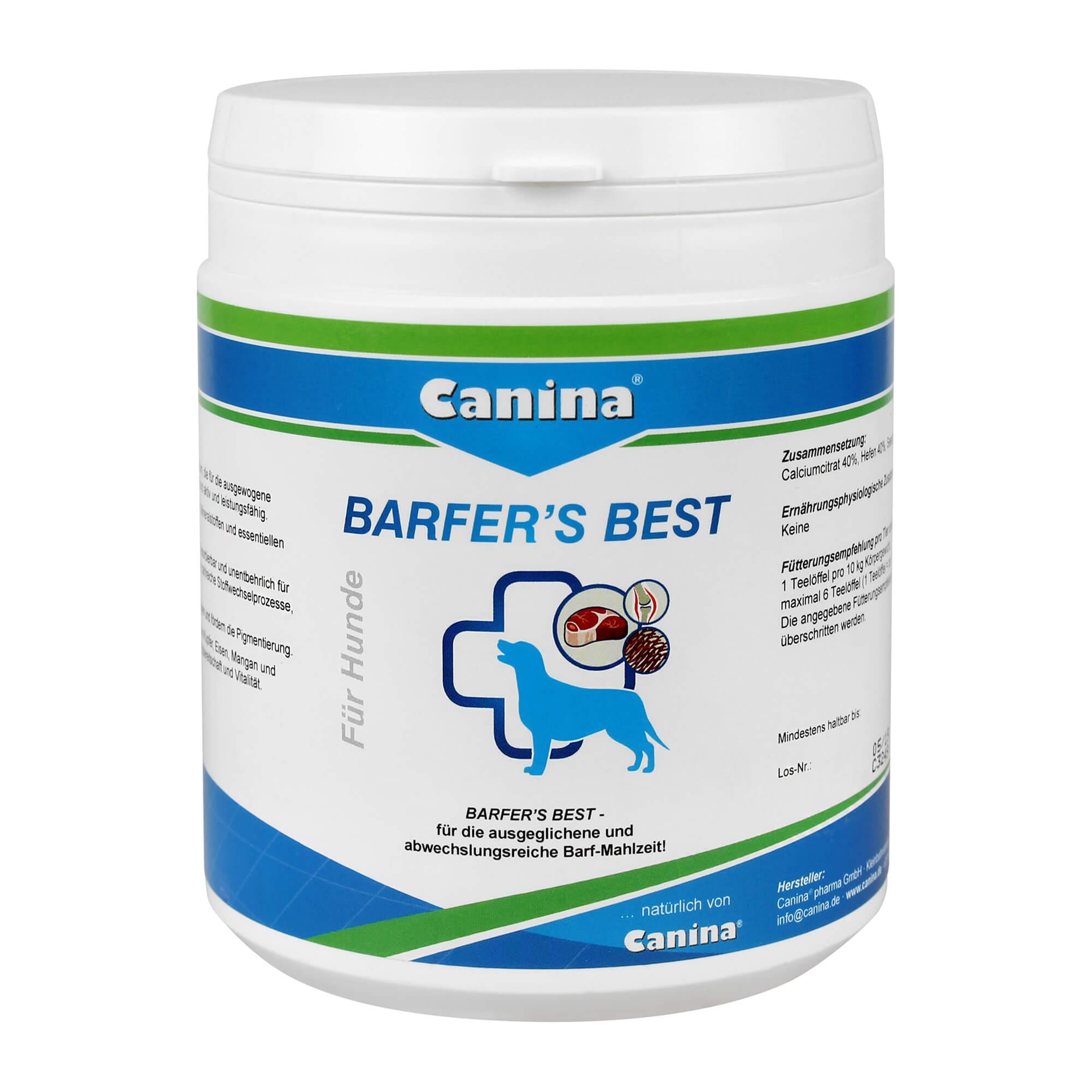 Barfers Best für Hunde Pulver