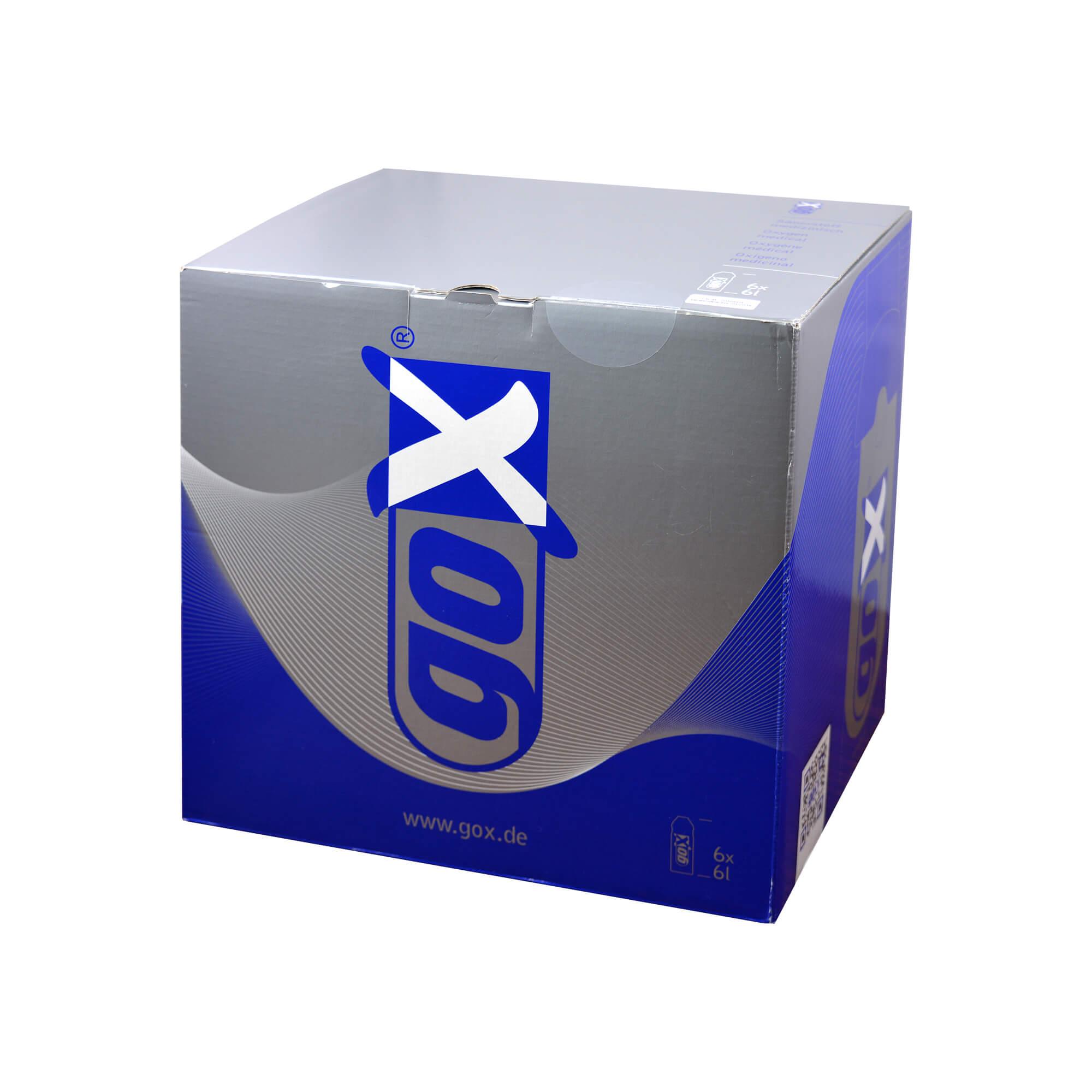 Gox Sauerstoff Medizin.Zwecke Sixpack