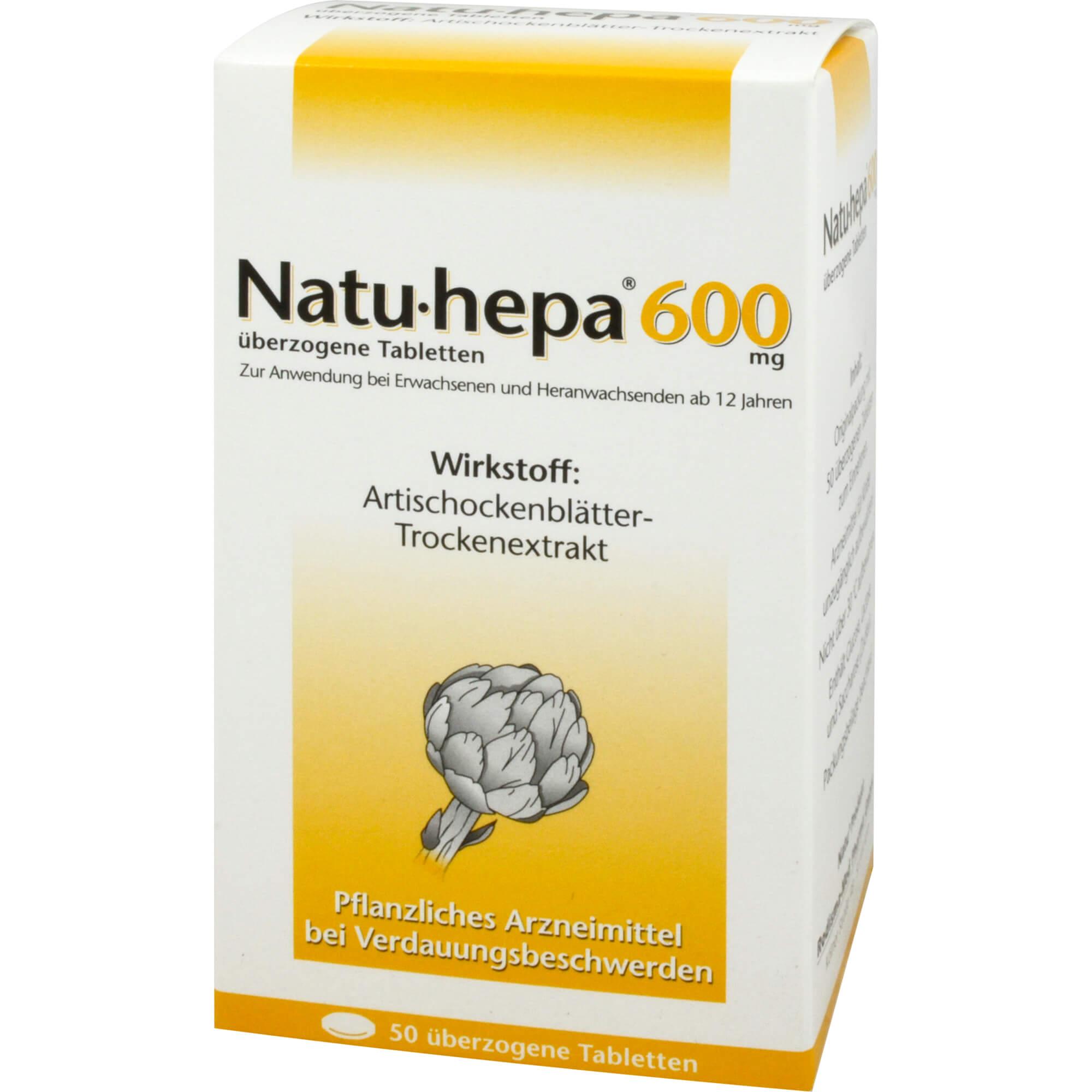 NATU HEPA 600MG UEBERZ TAB