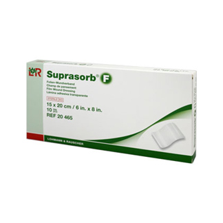 Suprasorb F Folien Wundverband 15x20 cm Steril