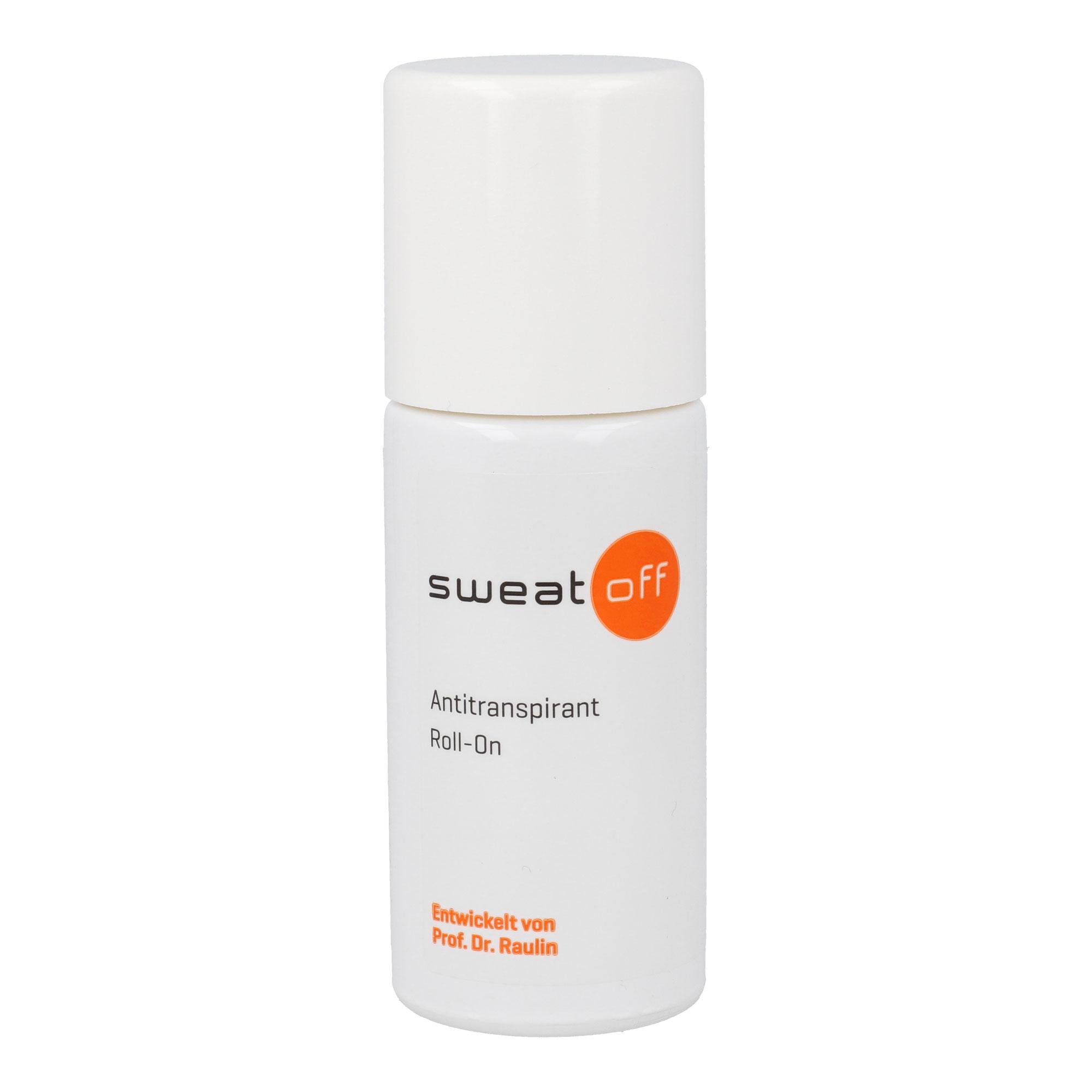 Sweat Off Antitranspirant Roll-on.