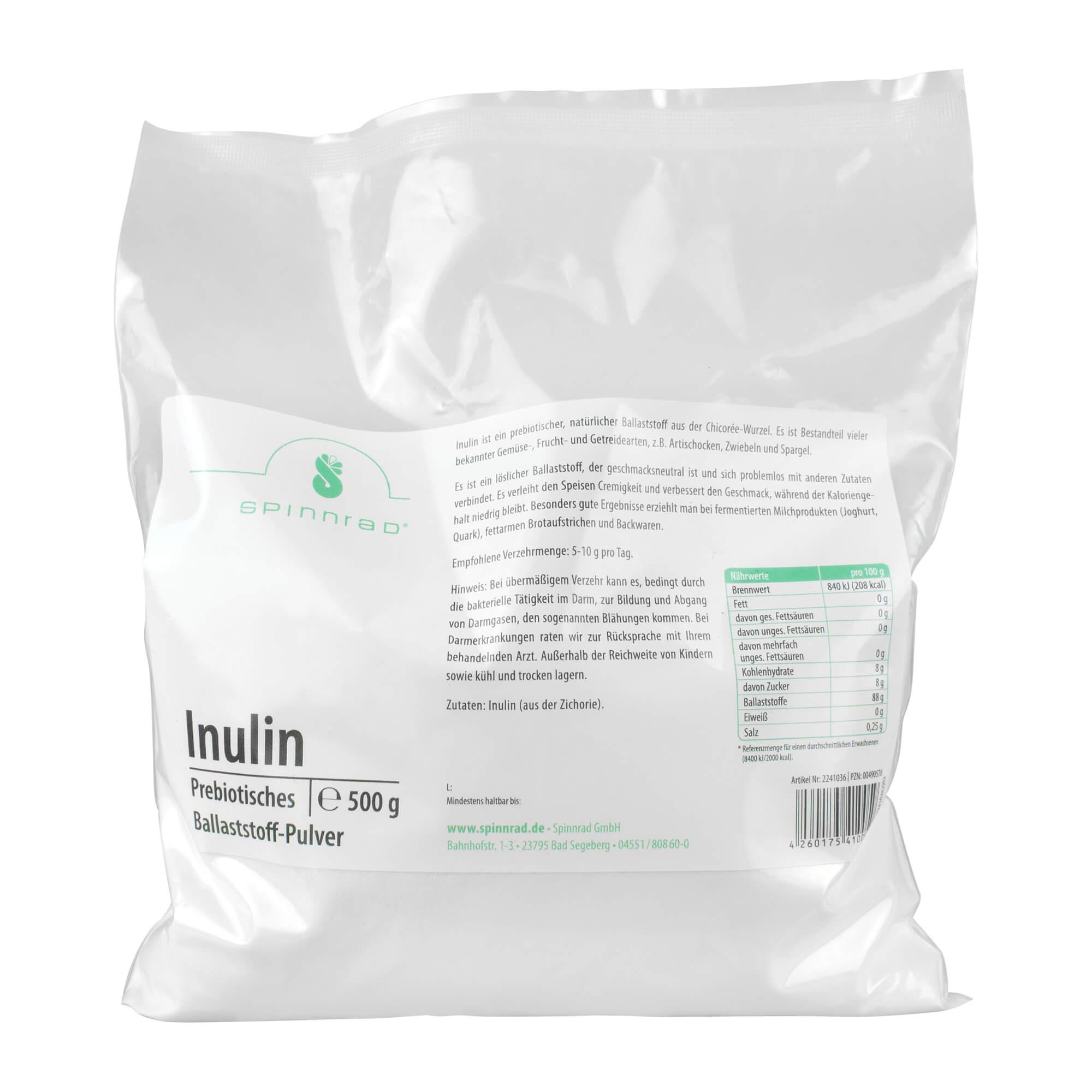 Inulin Prebiotisches Ballaststoff-Pulver