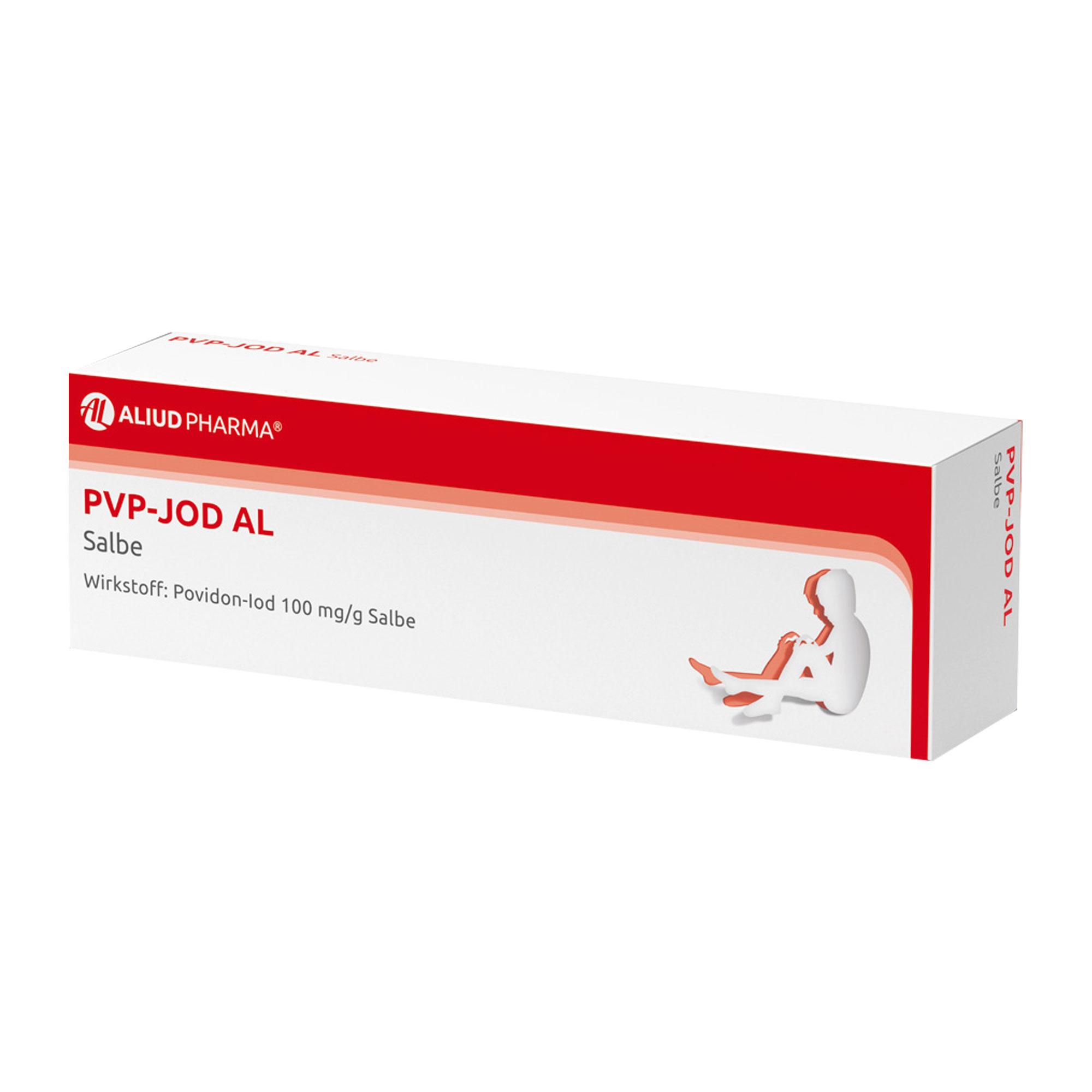 PVP-JOD AL Salbe Antiseptikum
