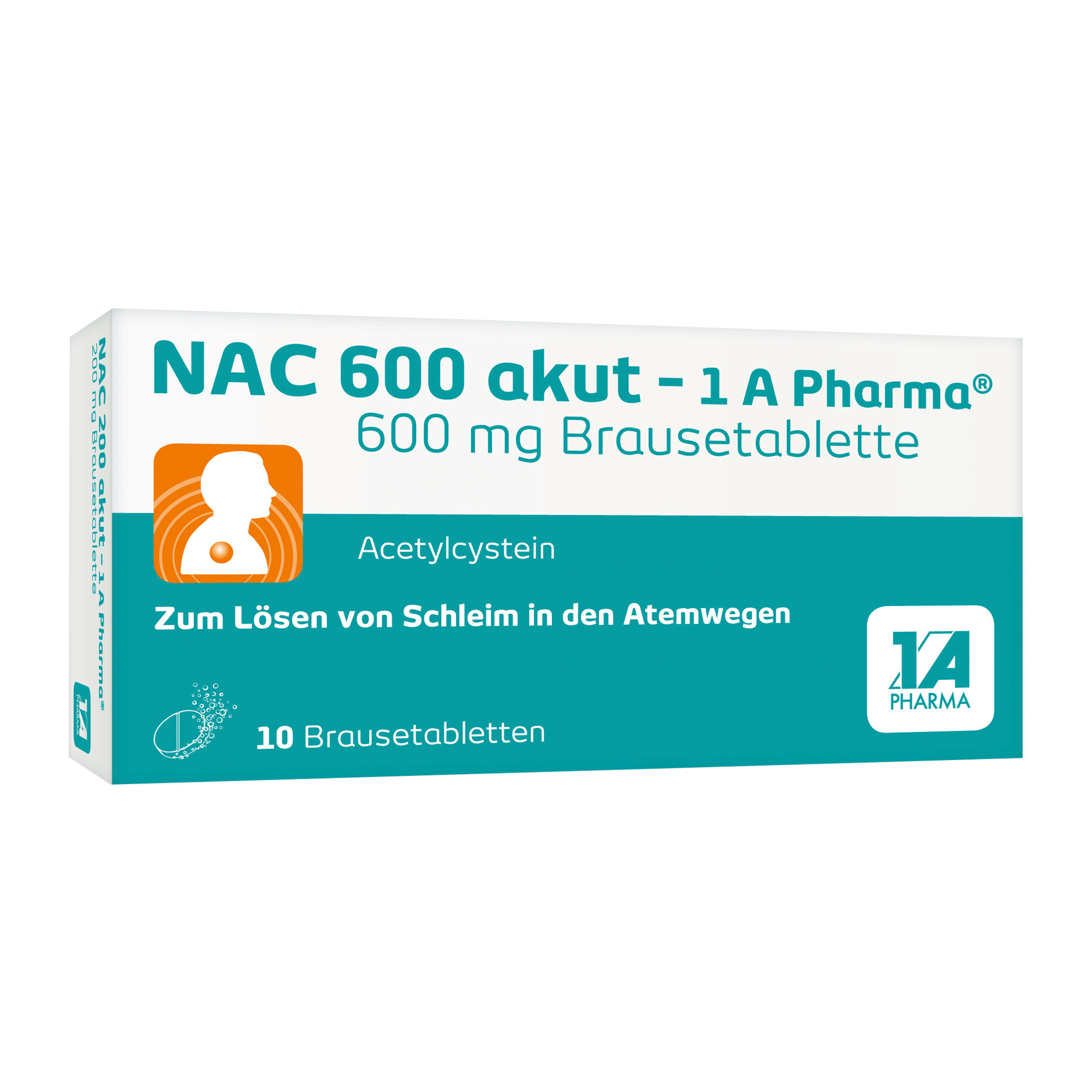 Nac 600 akut - 1 A Pharma Brausetabletten