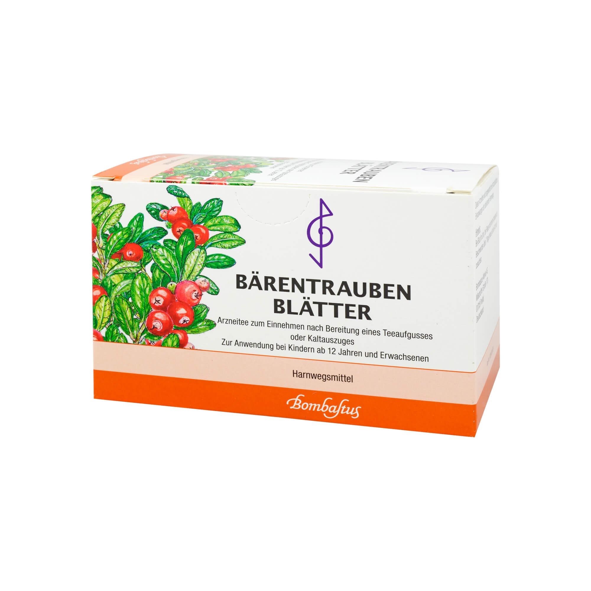 Bärentraubenblätter Tee