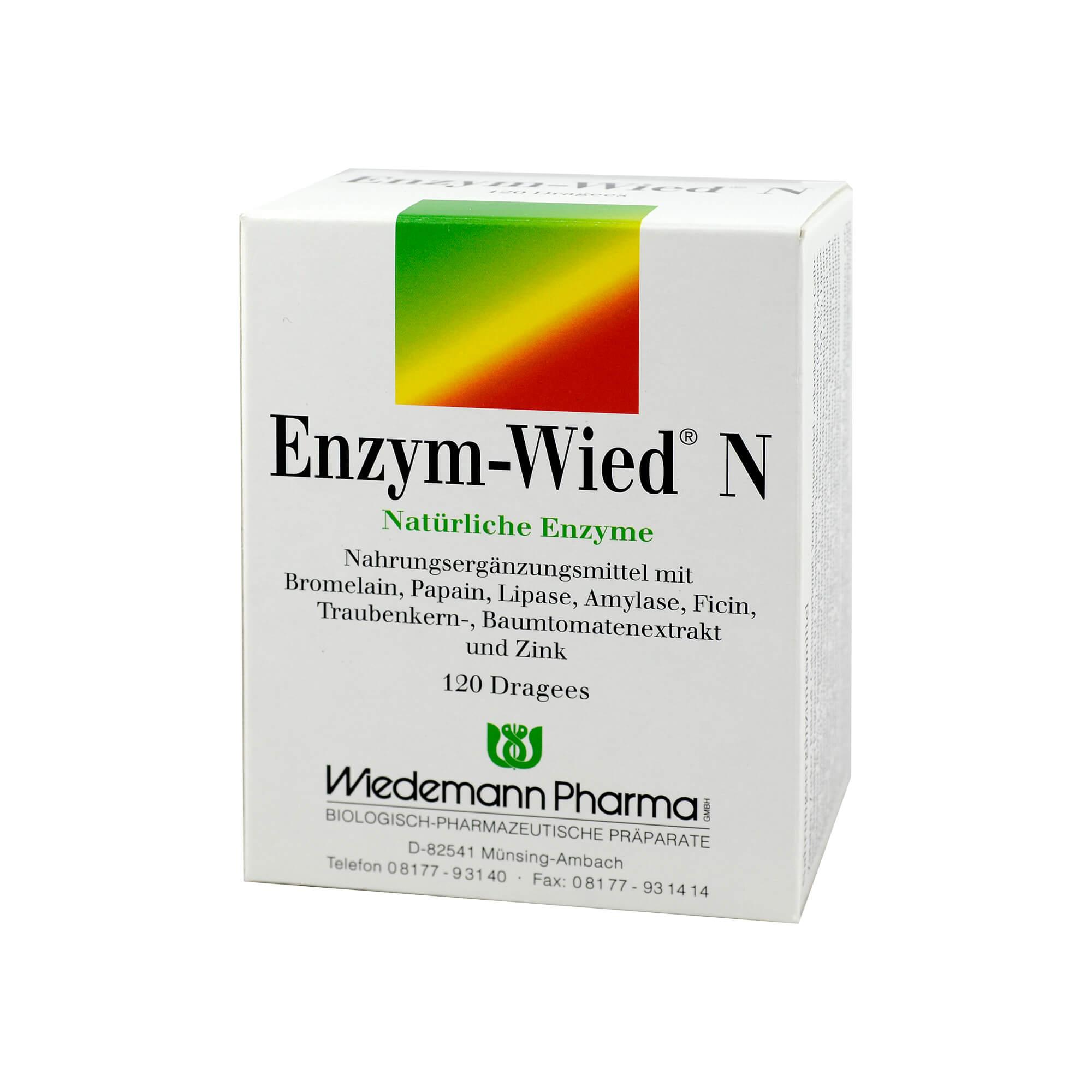 Enzym WIED N Dragees