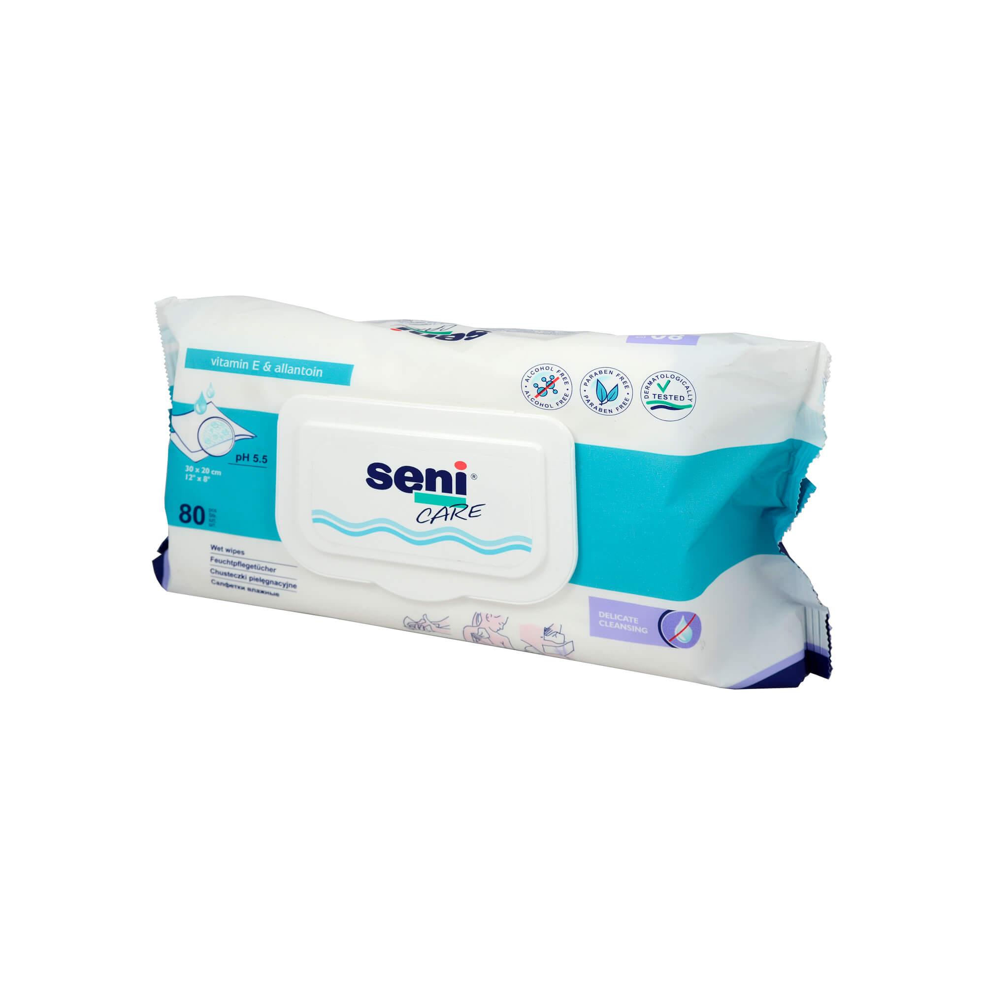 Feucht- und Pflegetücher Ersatzbox
