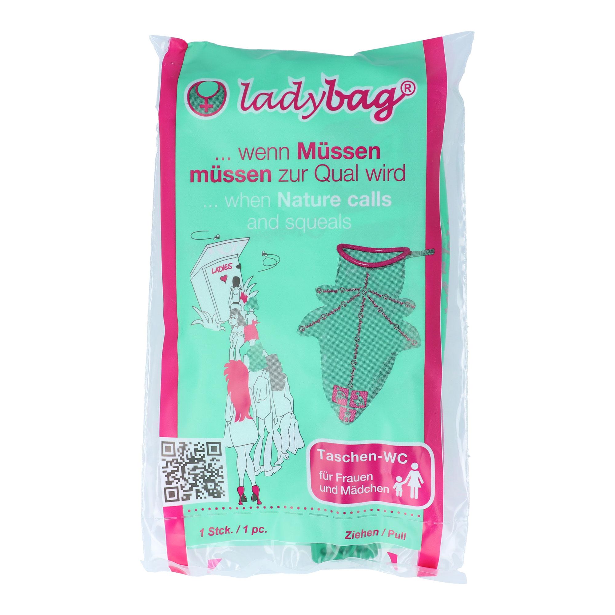 Ladybag Taschen-WC für Frauen