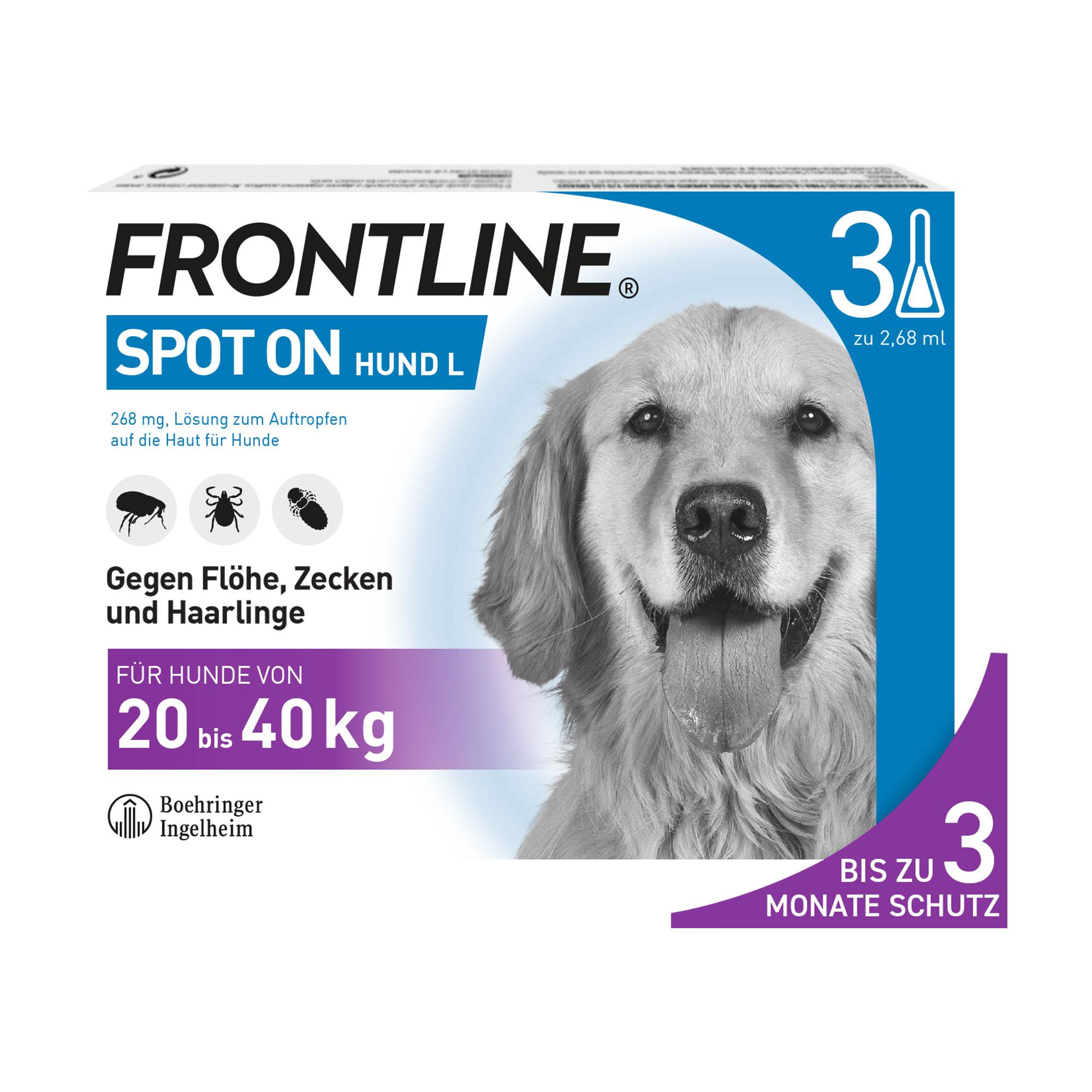 Frontline Spot on Hund L