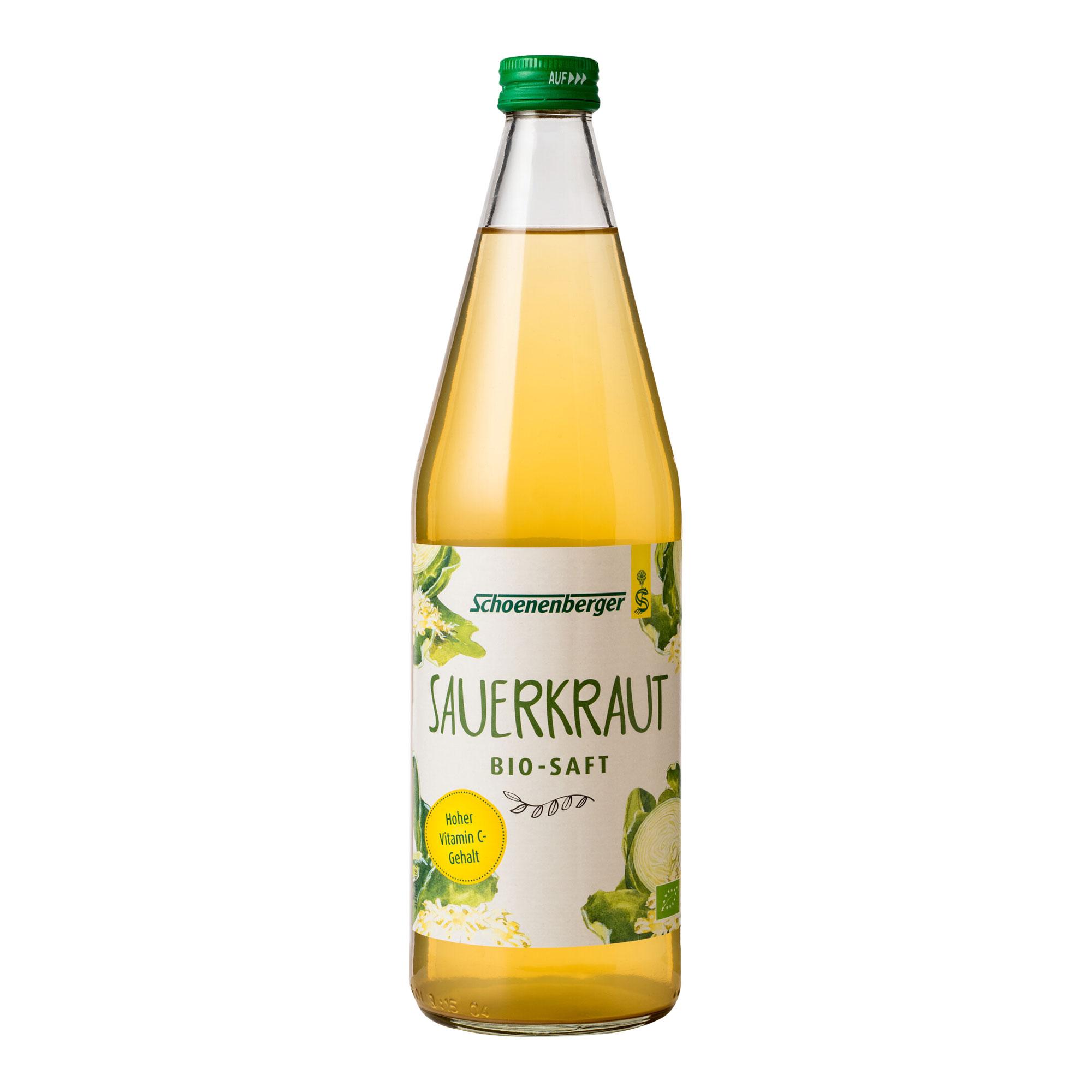 Sauerkraut Saft Bio Schoenenberger