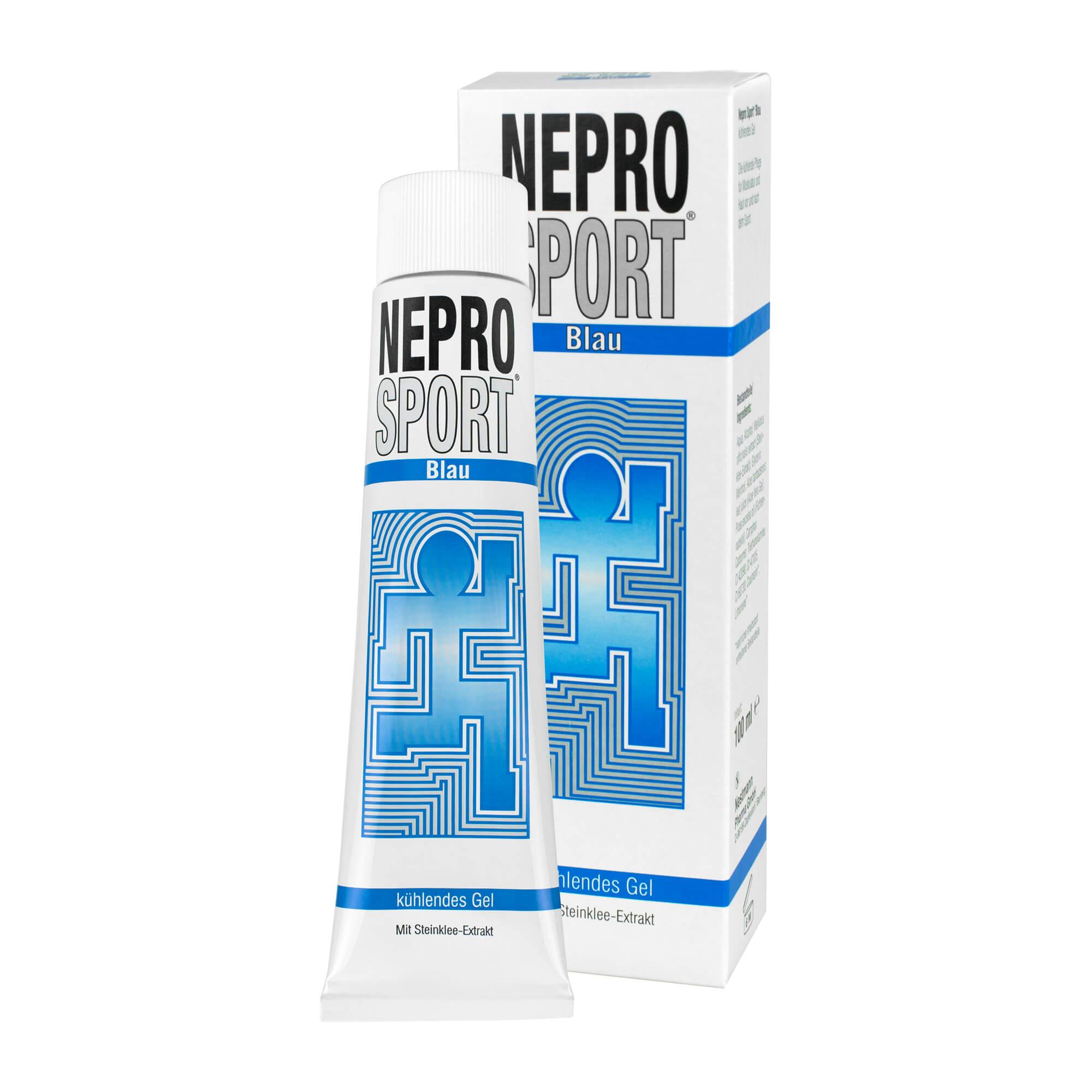 Nepro Sport blau kühlendes Gel