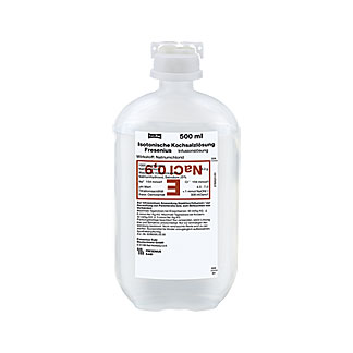 Kochsalzlösung 0,9 % Plastikflasche Fresenius