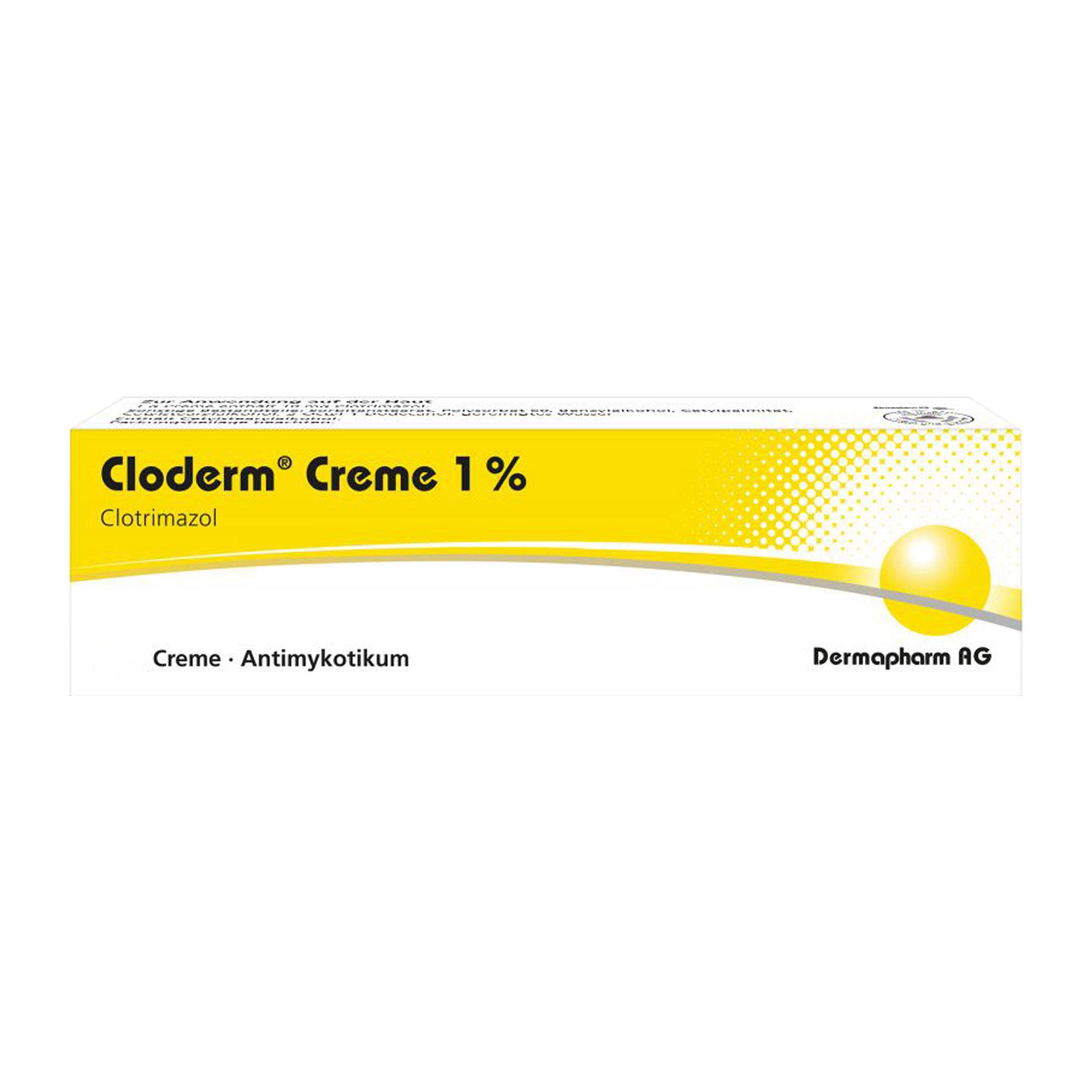 CLODERM CREME 1%