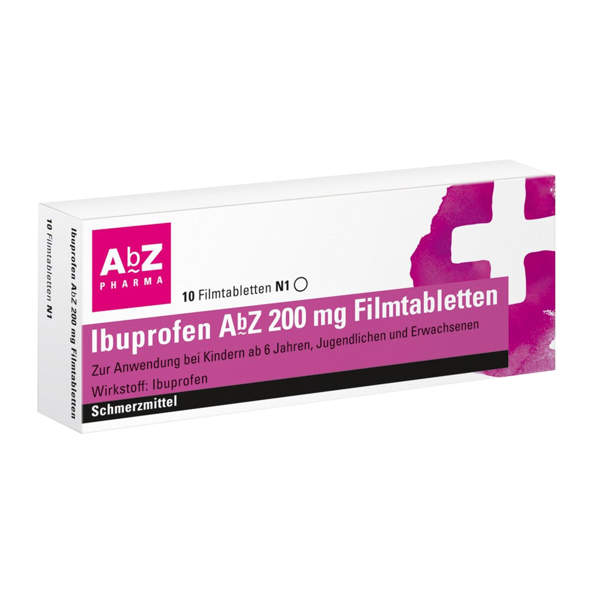 Ibuprofen AbZ 200 mg