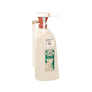 Augenspühlflasche Barikos mit steriler Flüssigkeit
