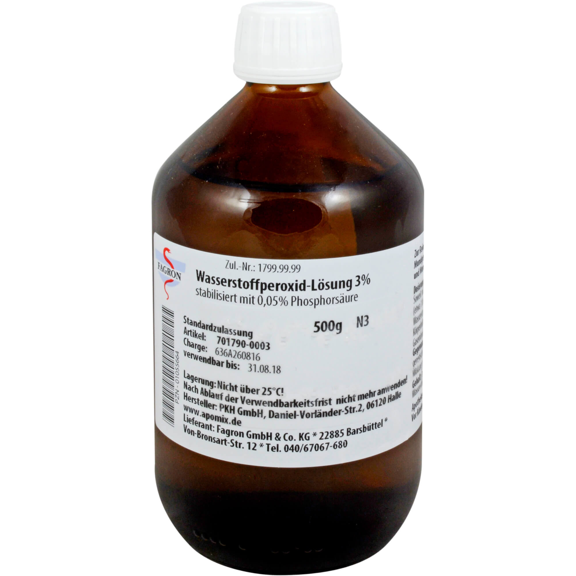 Fagron Wasserstoffperoxid Lösung 3%
