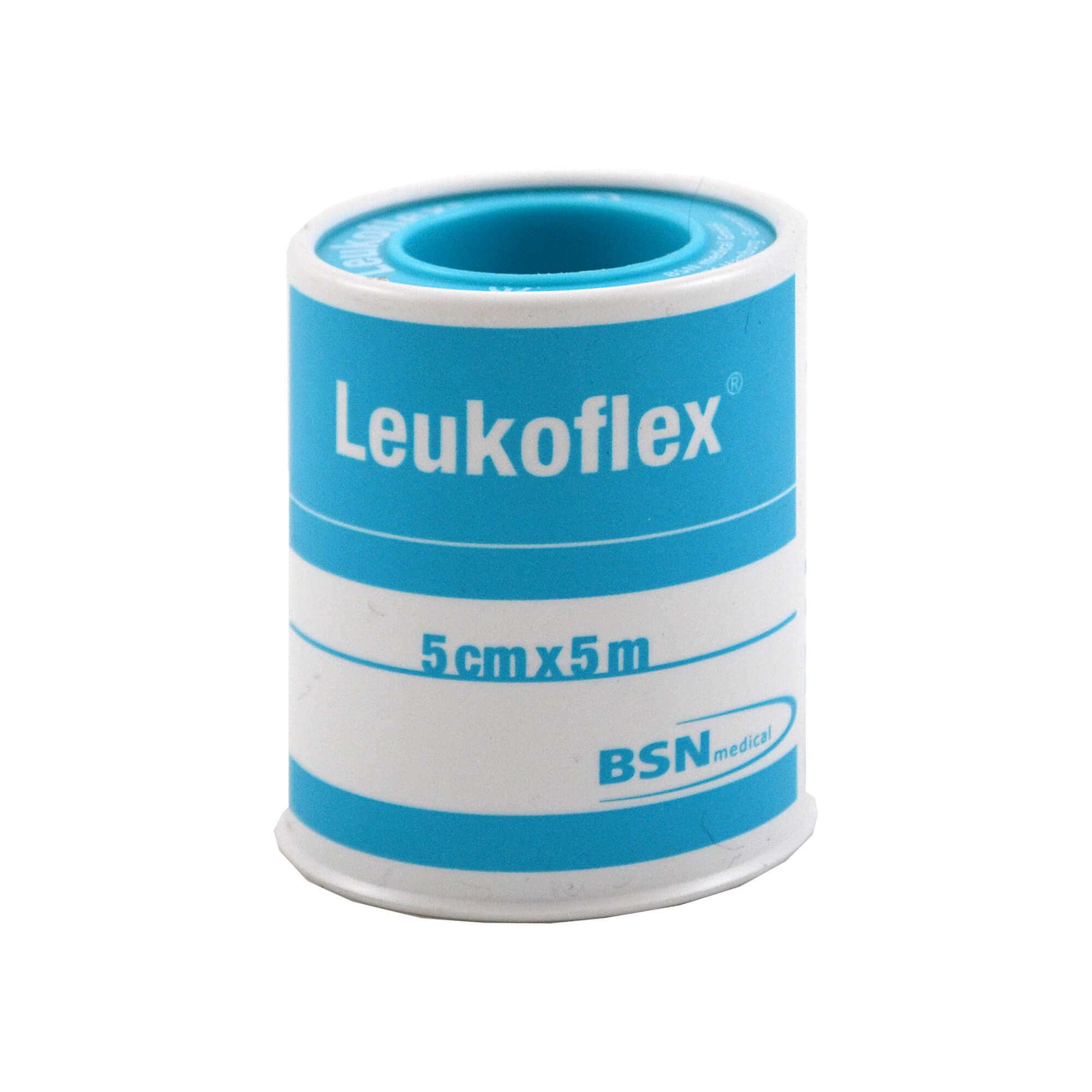 Leukoflex Verbandpflaster 5 cmx5 m