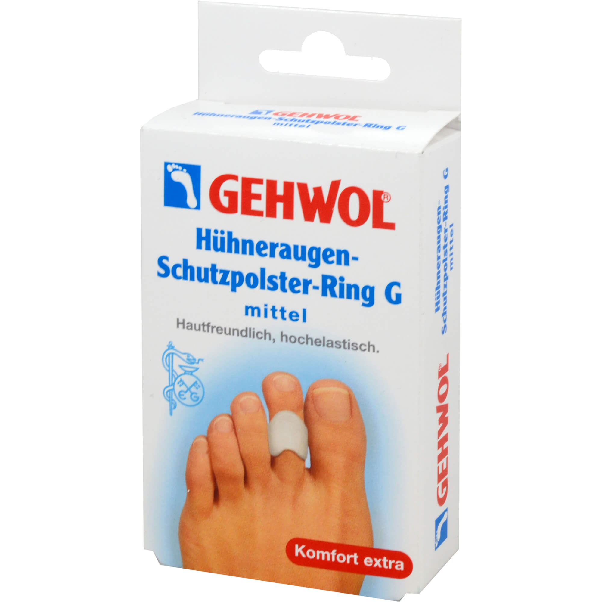 Gehwol Hühneraugen-Schutzpolster-Ring G