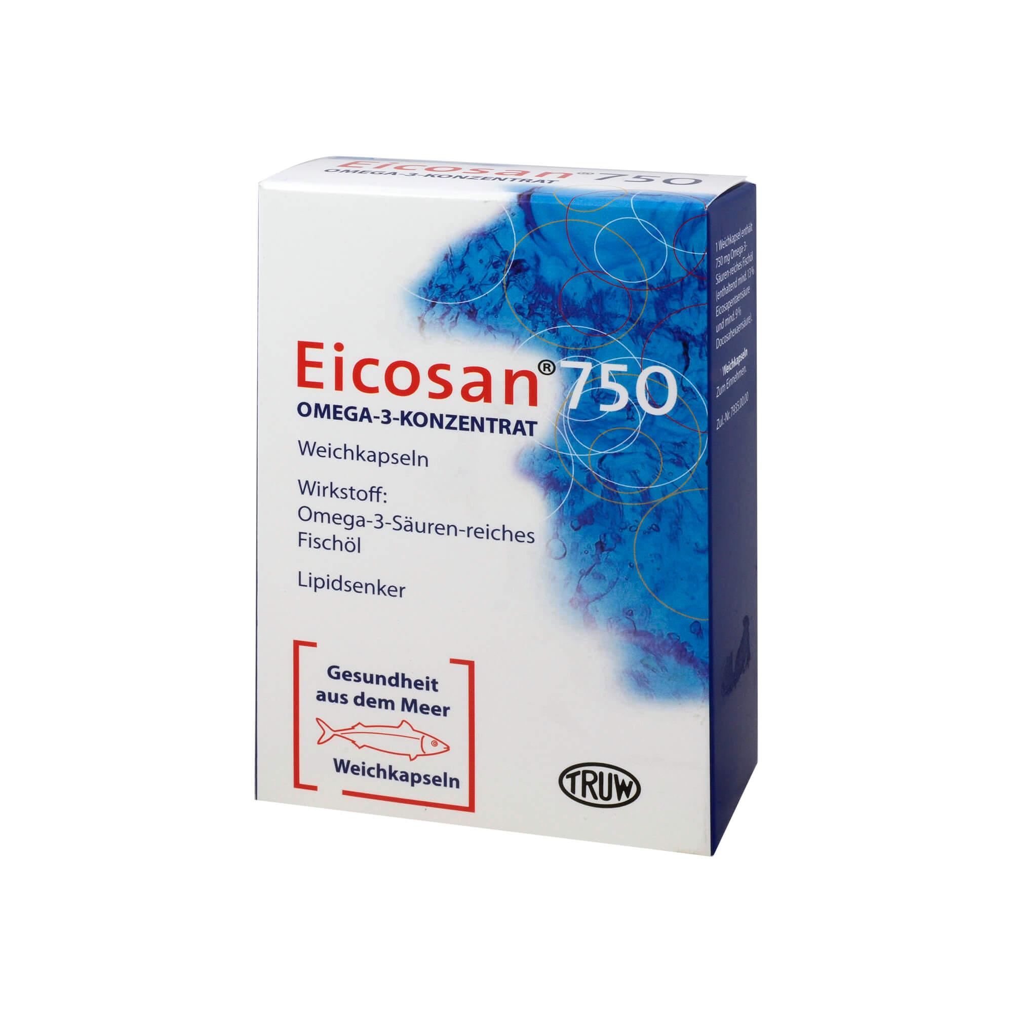 EICOSAN 750 OMEGA-3-KONZ.