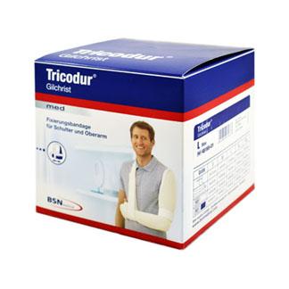 Tricodur Gilchrist Bandage Größe L Blau