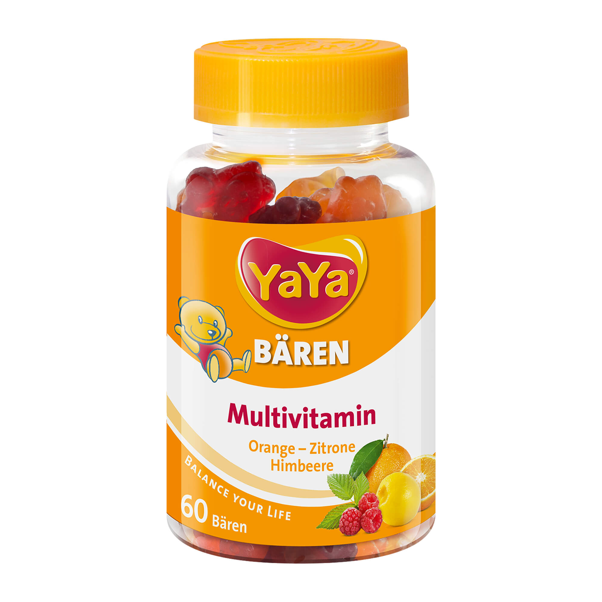 YaYa Bär Kinder-Vitamine Fruchtgummis