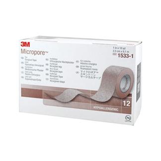 Micropore Vliespflaster 9,1 Mx2,5 cm Haut 1533-1