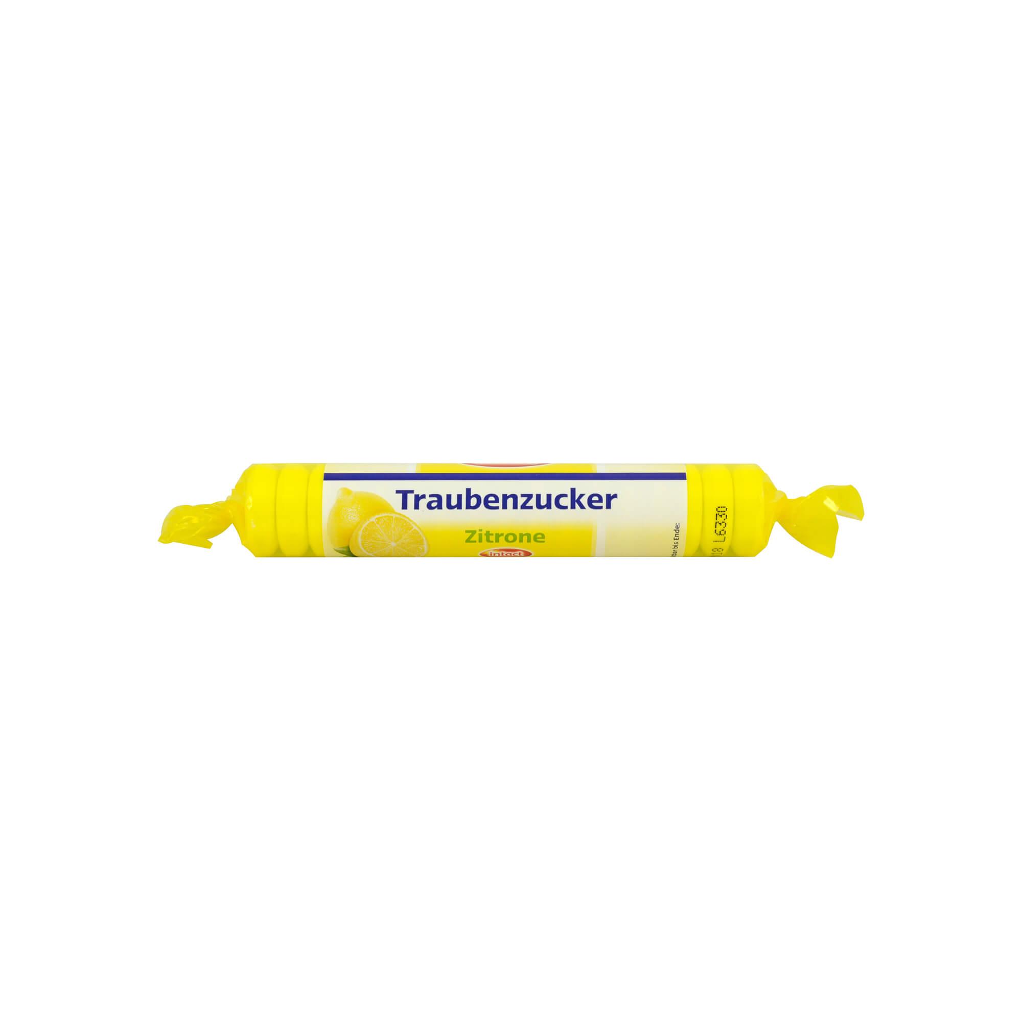 Intact Traubenzucker Zitrone Rolle