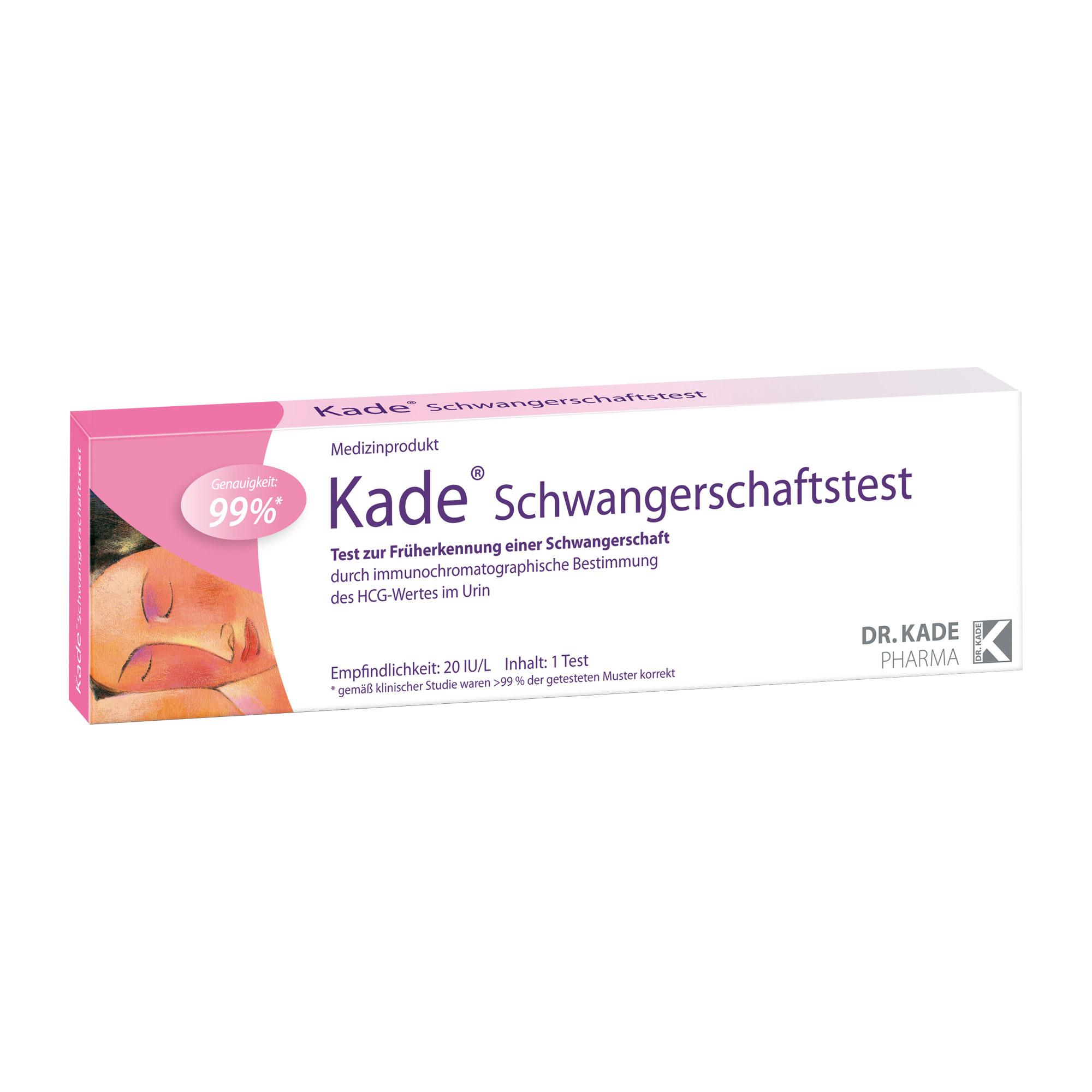 Kade Schwangerschaftstest