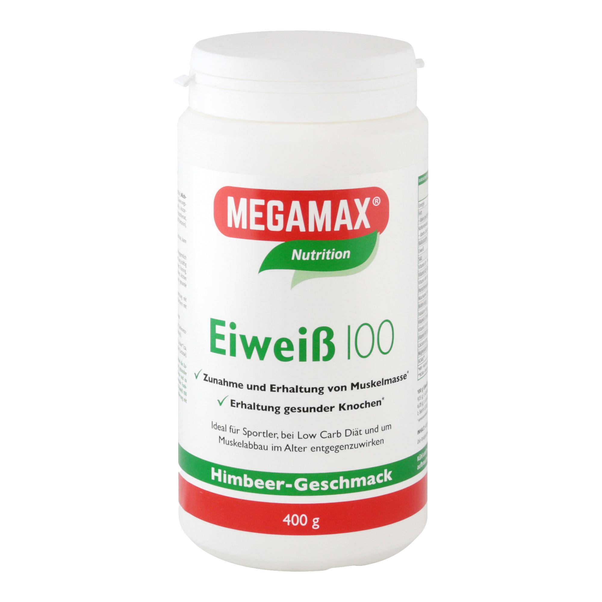 MegaMax Eiweiß 100 Himbeer-Quark
