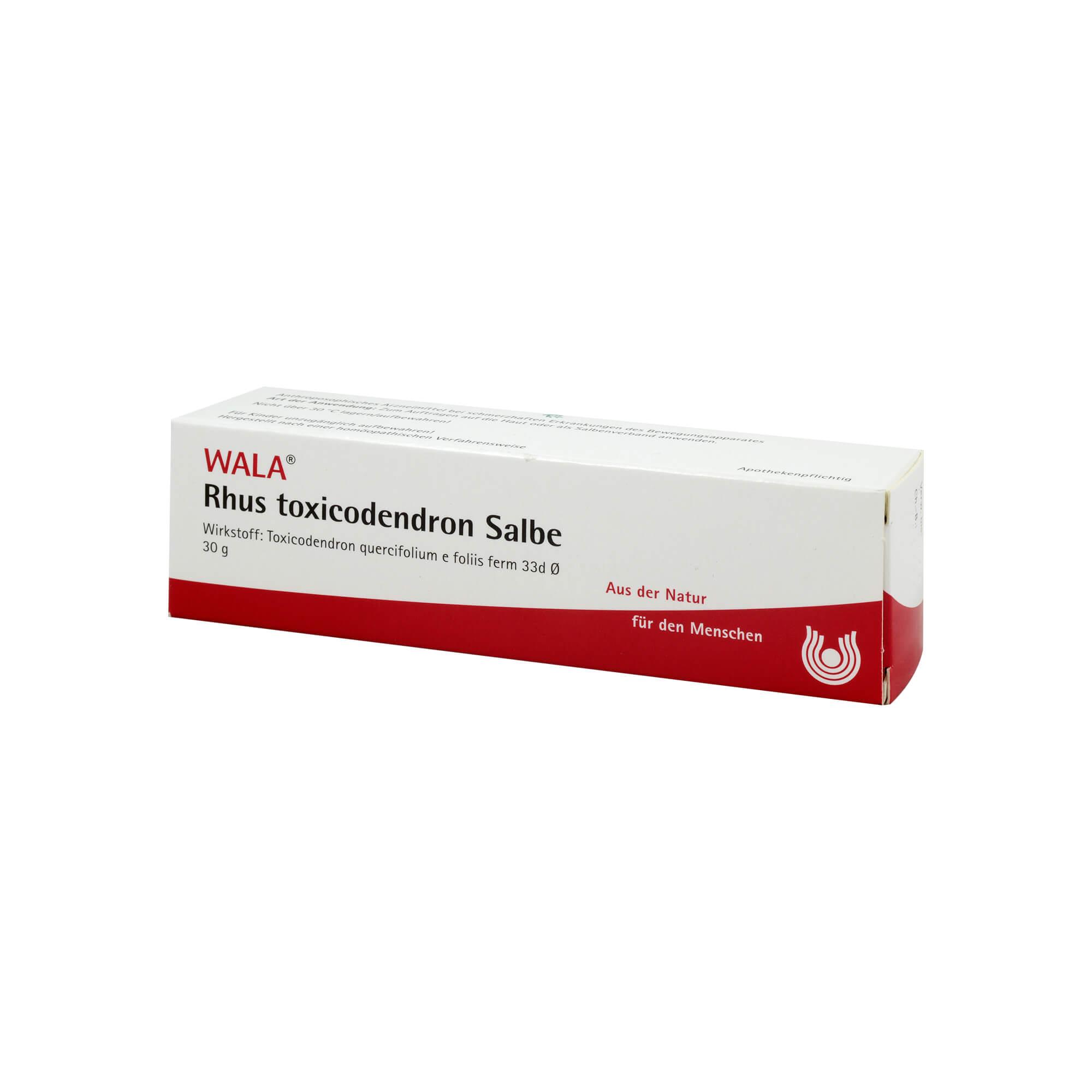 RHUS TOXICODENDRON SALBE