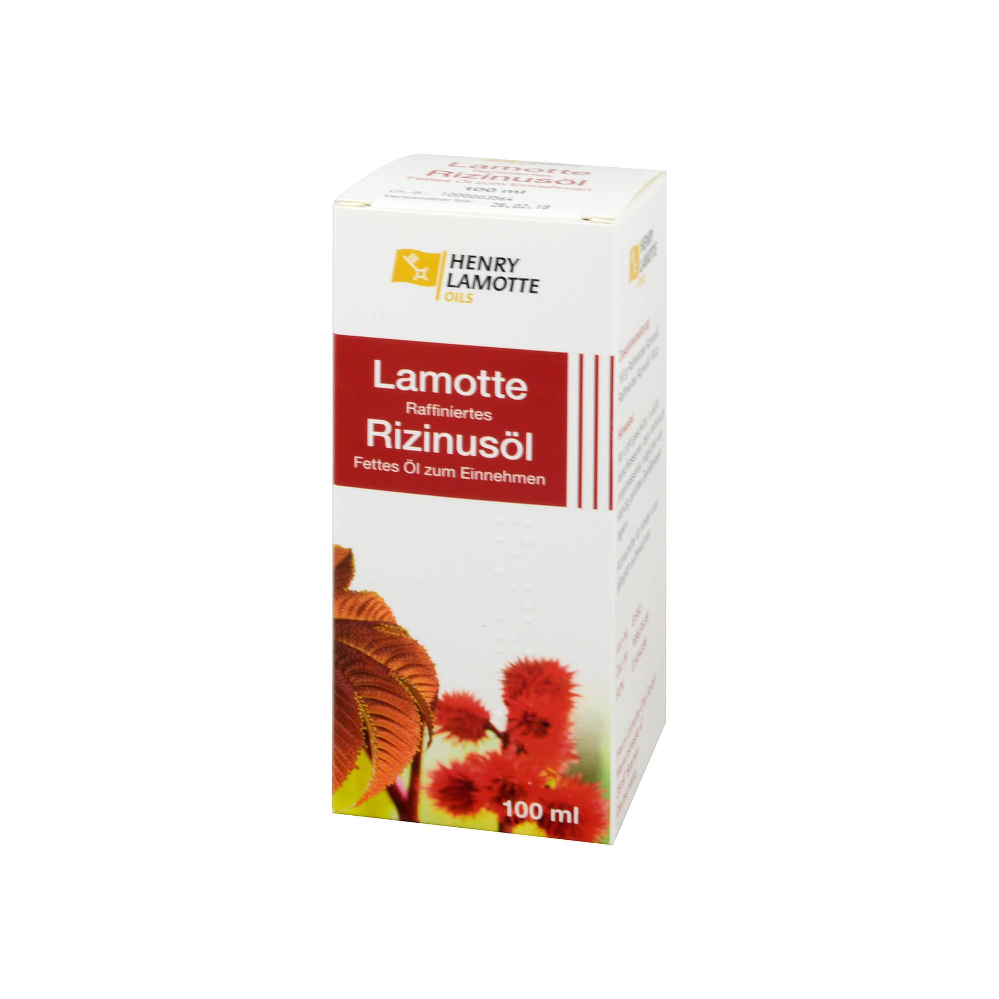 Rizinusöl Raffiniert Lamotte