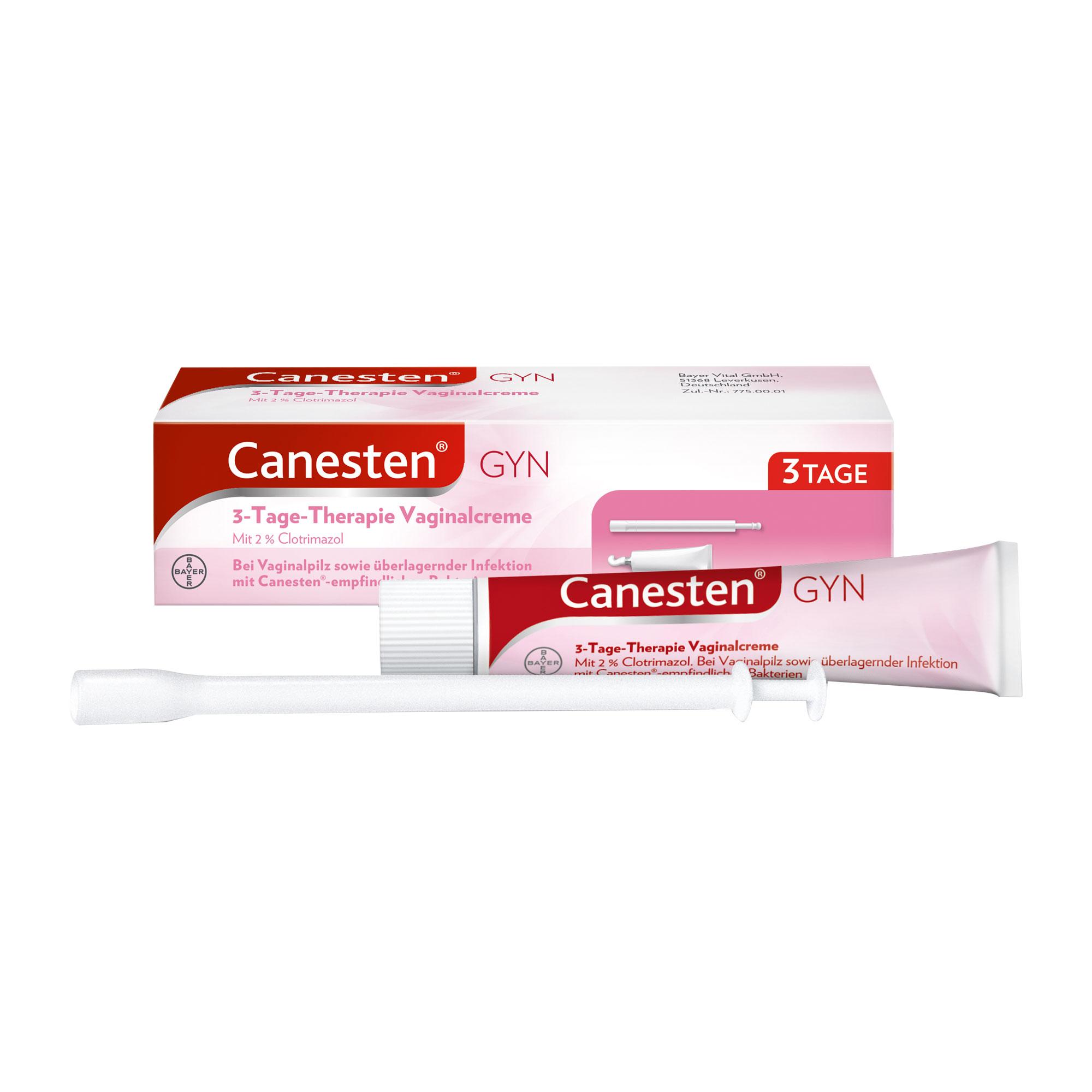 Canesten Gyn 3 Vaginalcreme