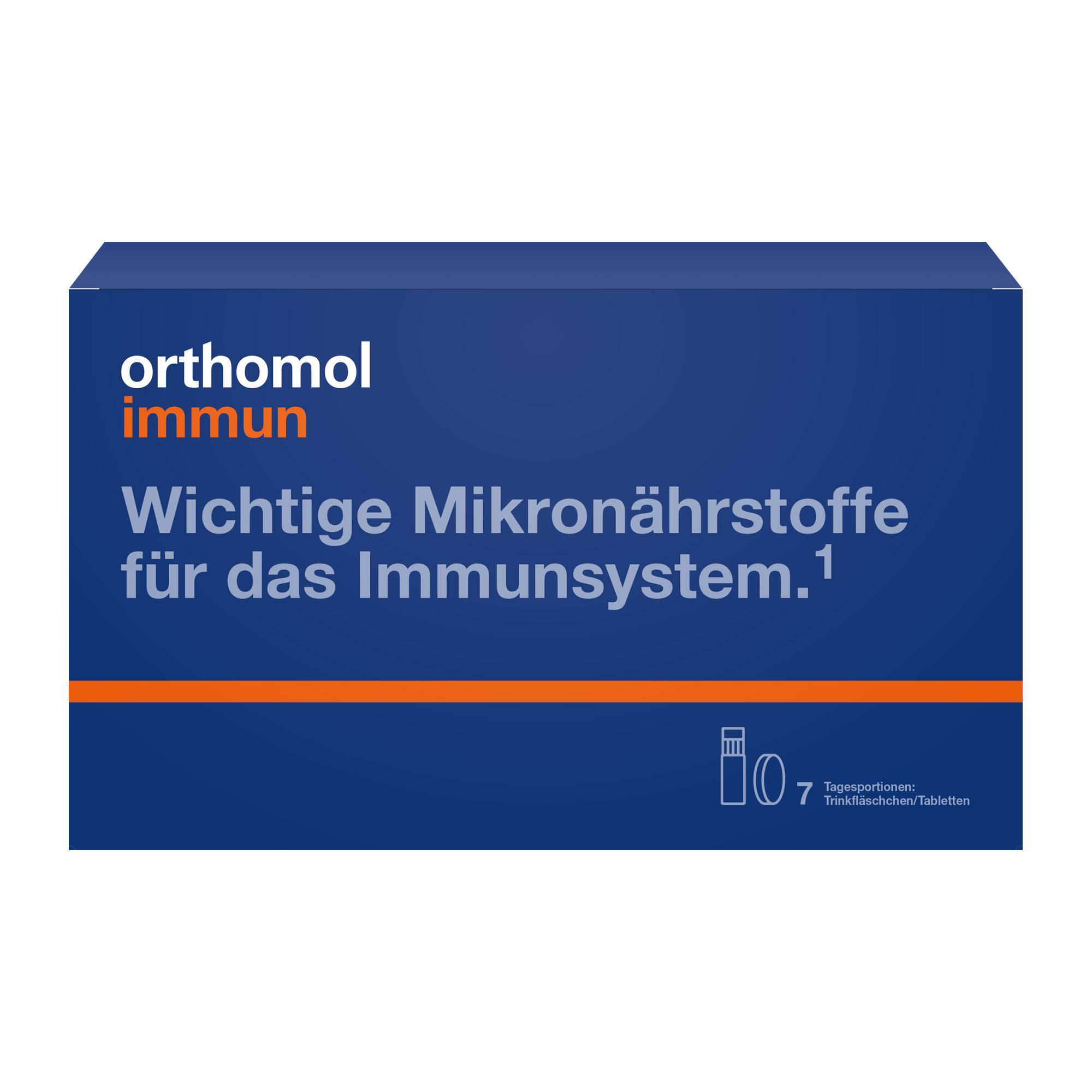 Orthomol Immun Trinkfläschchen