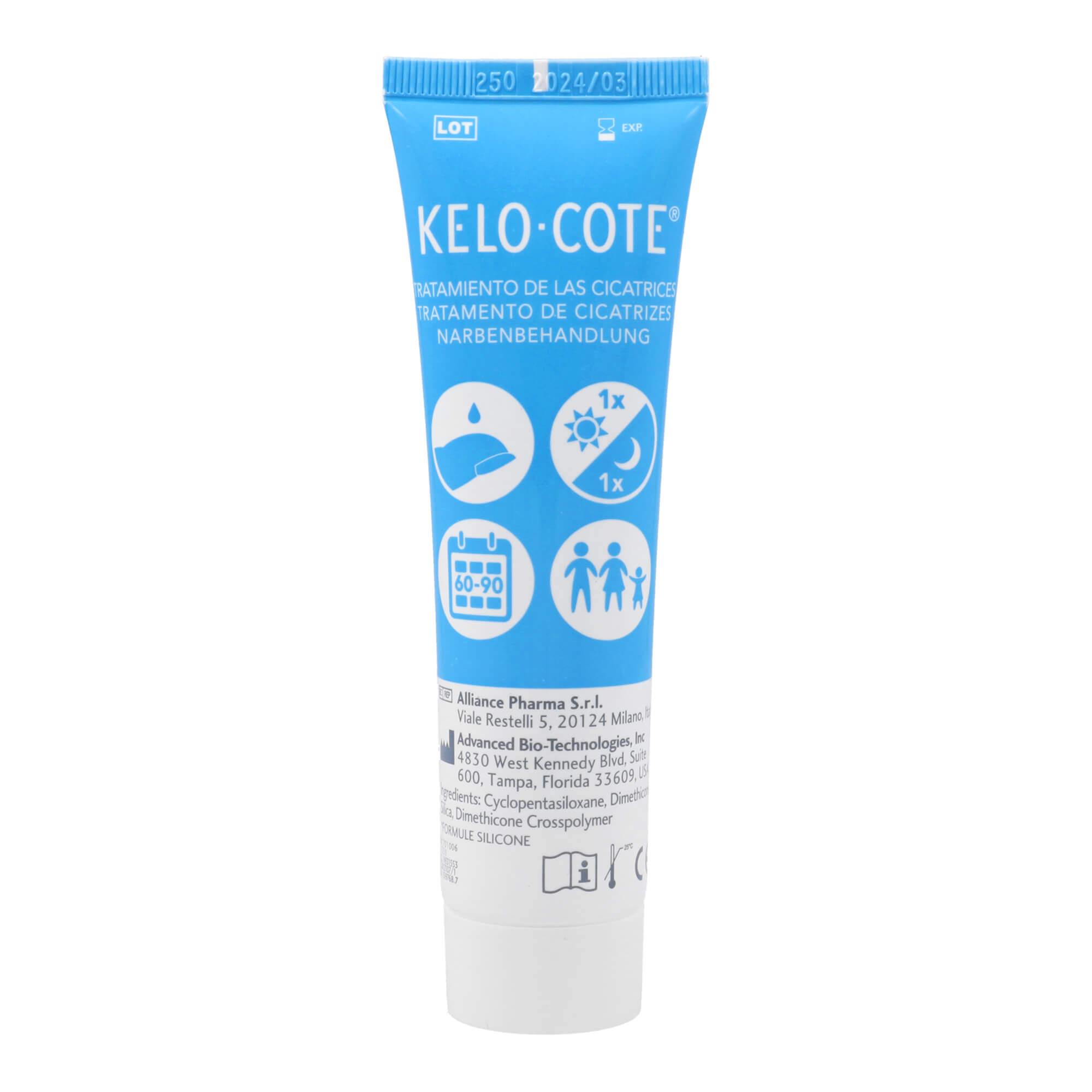 Kelo-Cote Silkon-Gel zur Behandlung von Narben