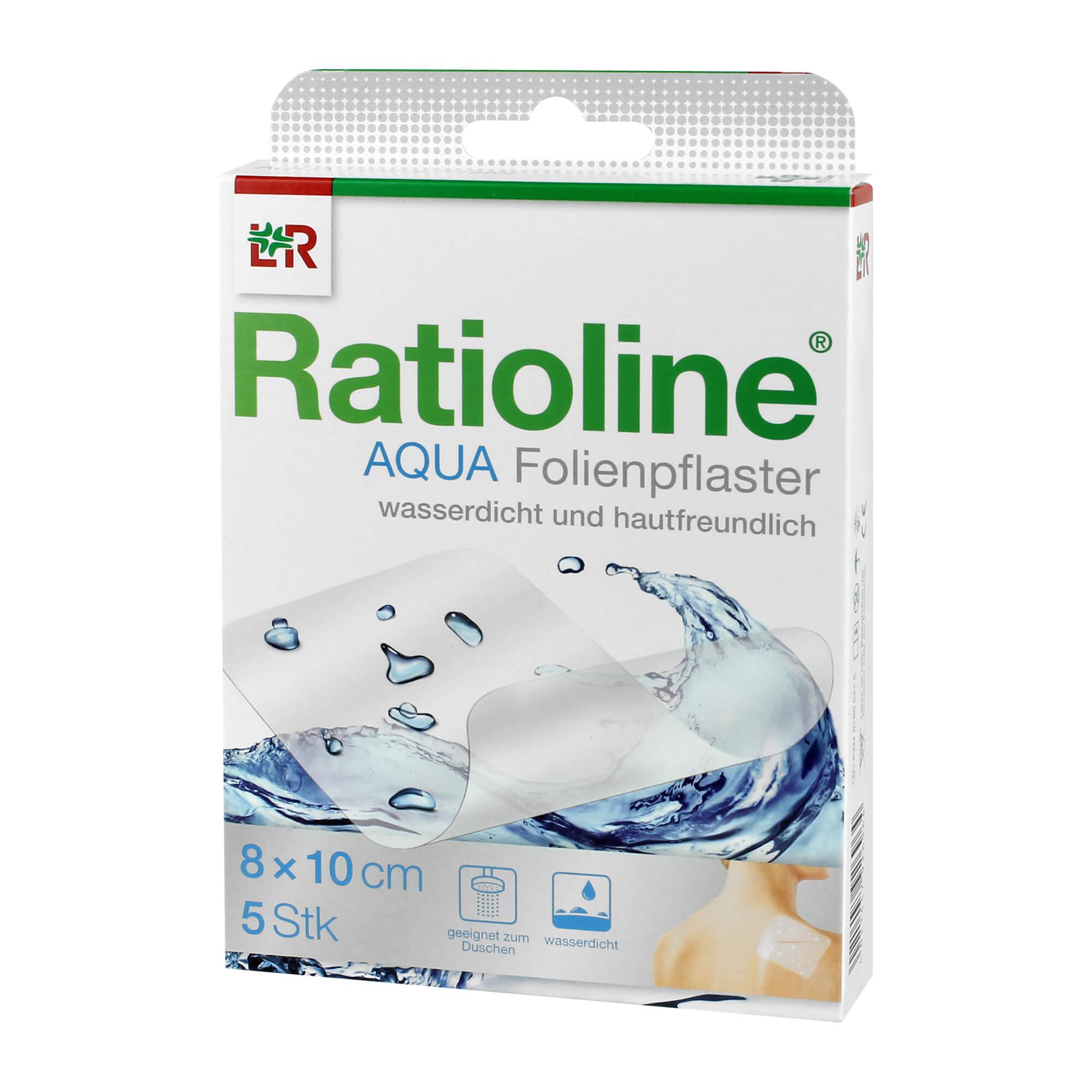 Ratioline aqua Duschpflaster 8x10 cm
