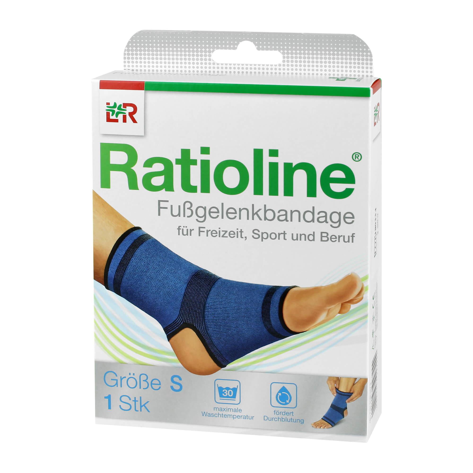 Ratioline Active Fußgelenkbandage Größe S