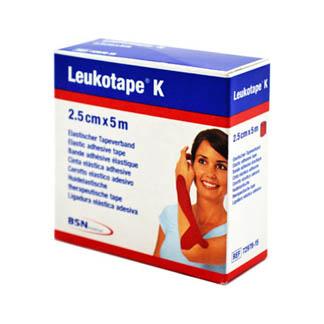 Leukotape K 2,5 cm rot