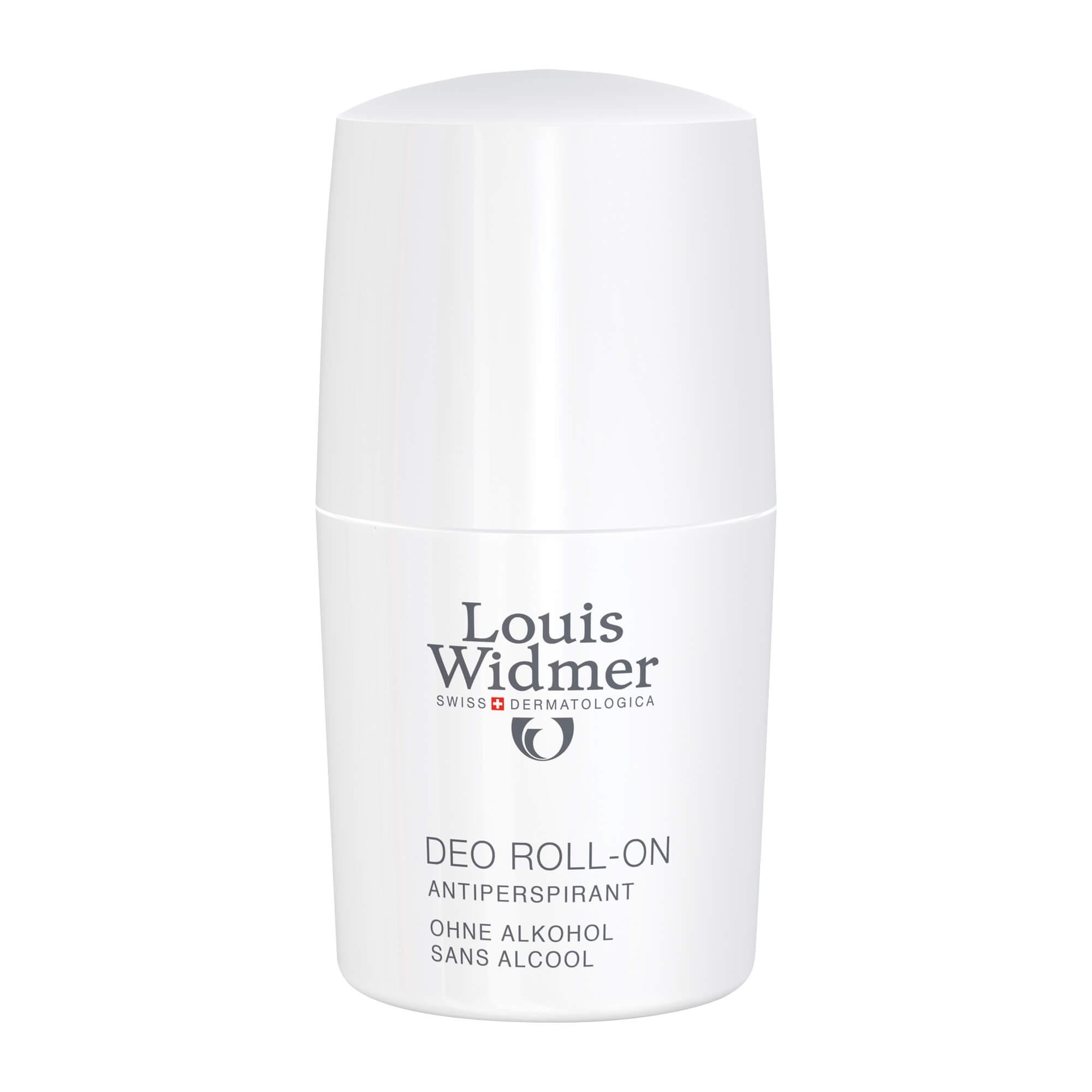 Widmer Deo Roll on leicht parfümiert