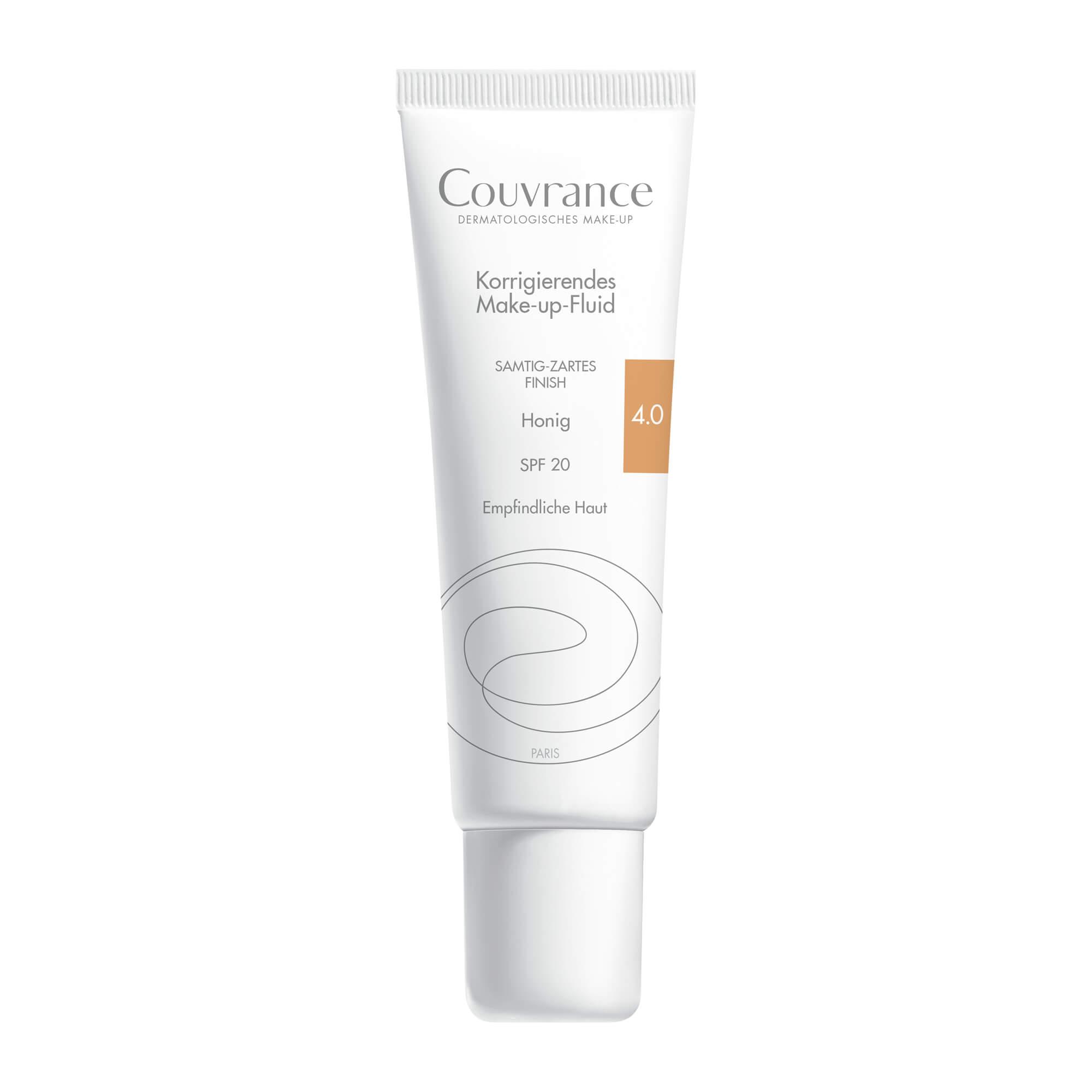 Avene Couvrance Korrigierendes Make-up Fluid Honig